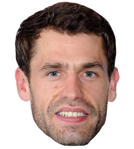 Kelvin Fletcher Cardboard Celebrity Mask