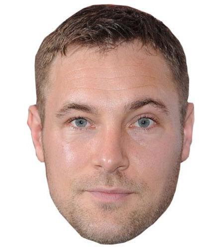 Marc Bayliss Cardboard Celebrity Mask