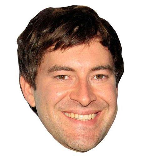 A Cardboard Celebrity Big Head of Mark Duplass