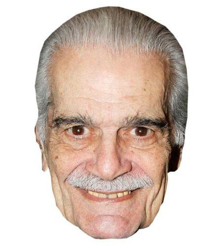 A Cardboard Celebrity Omar Sharif Big Head