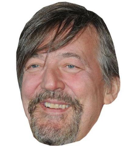 A Cardboard Celebrity Stephen Fry Big Head