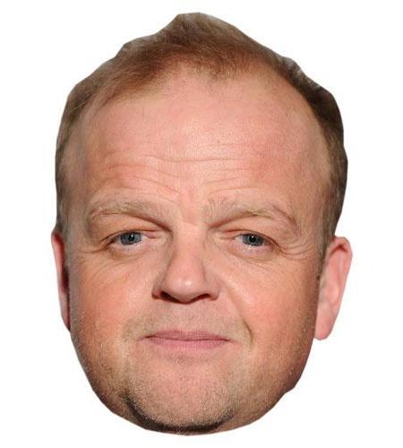 A Cardboard Celebrity Toby Jones Big Head