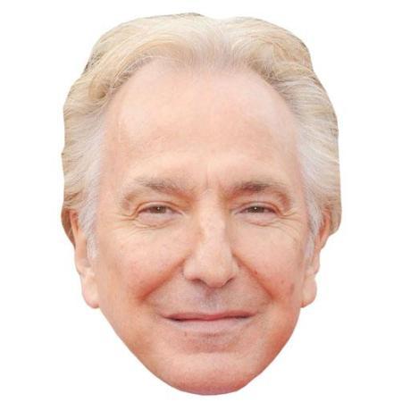 A Cardboard Celebrity Big Head of Alan Rickman