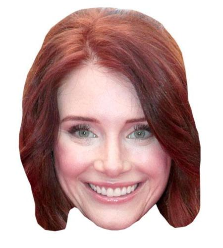 A Cardboard Celebrity Big Head of Bryce Dallas Howard