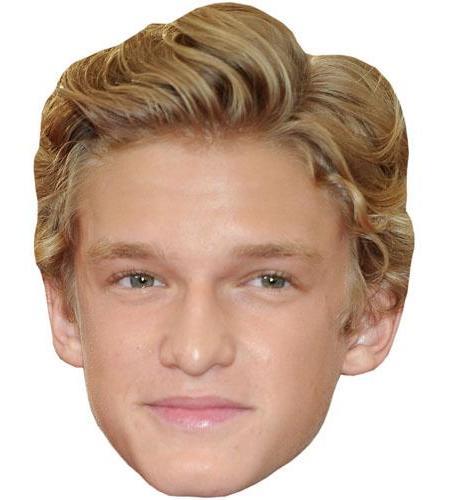A Cardboard Celebrity Big Head of Cody Simpson