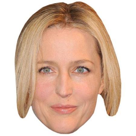 A Cardboard Celebrity Big Head of Gillian Anderson