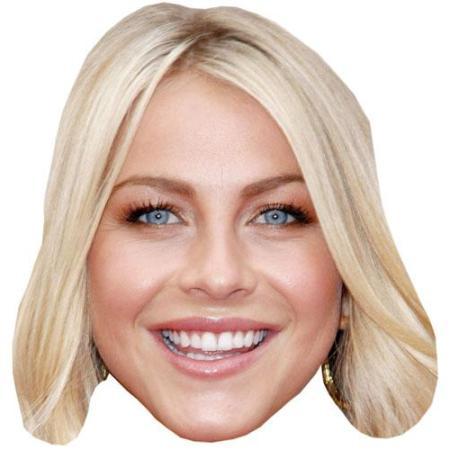 A Cardboard Celebrity Big Head of Julianne Hough