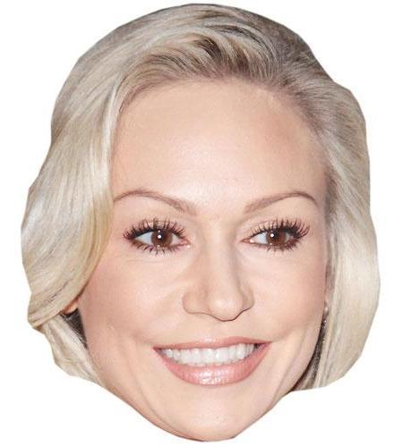 A Cardboard Celebrity Big Head of Kristina Rihanoff