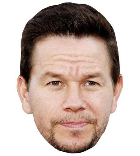 A Cardboard Celebrity Big Head of Mark Wahlberg