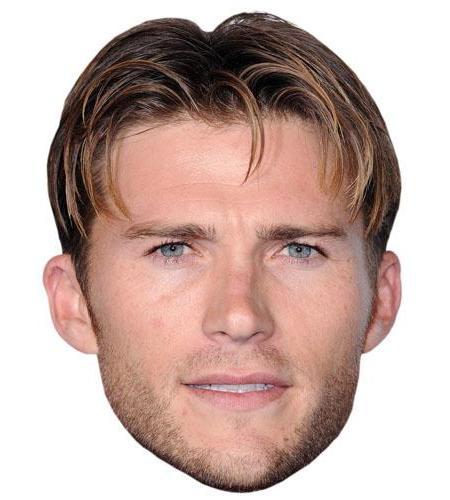 A Cardboard Celebrity Big Head of Scott Eastwood