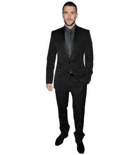 A Lifesize Cardboard Cutout of Shayne Ward wearing a suit