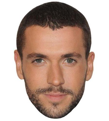 A Cardboard Celebrity Big Head of Shayne Ward