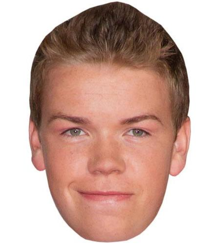 A Cardboard Celebrity Big Head of Will Poulter