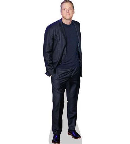 Alan Tudyk Cardboard Cutout wearing a suit