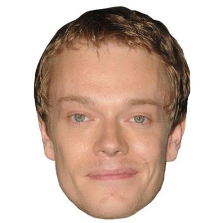 A Cardboard Celebrity Big Head of Alfie Allen