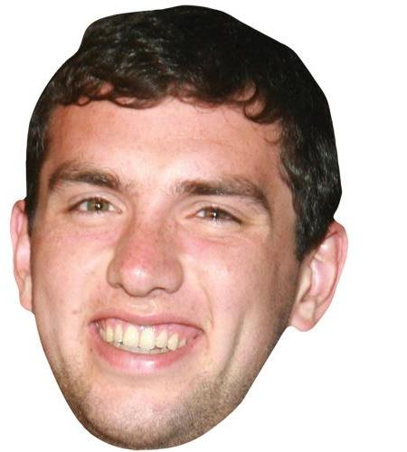 A Cardboard Celebrity Big Head of Andrew Luck