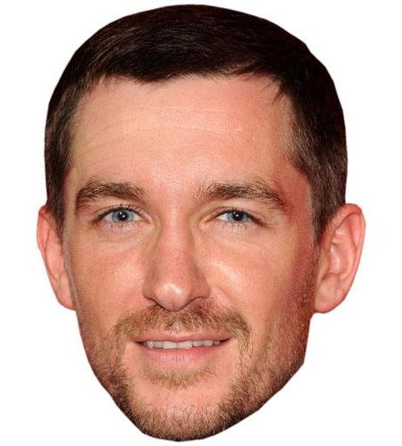 A Cardboard Celebrity Big Head of Anthony Quinlan