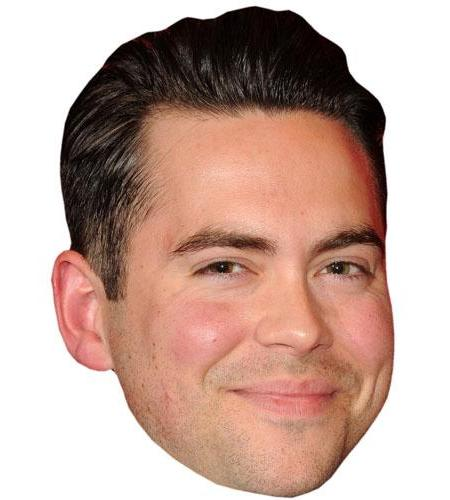 A Cardboard Celebrity Big Head of Bruno Langley
