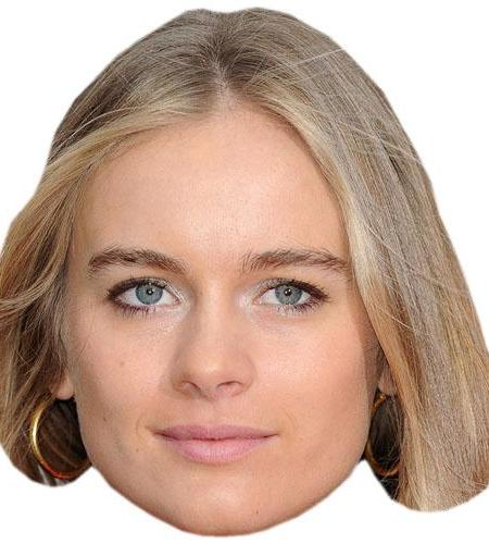 A Cardboard Celebrity Big Head of Cressida Bonas