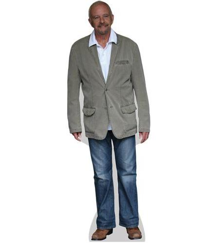 A Lifesize Cardboard Cutout of David Essex wearing jeans