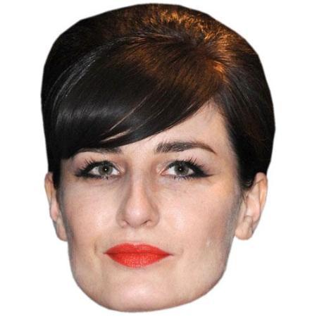 A Cardboard Celebrity Big Head of Erin O'Connor