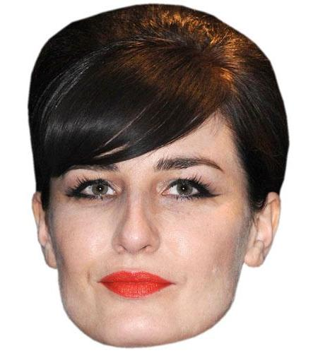 A Cardboard Celebrity Big Head of Erin O'Connor