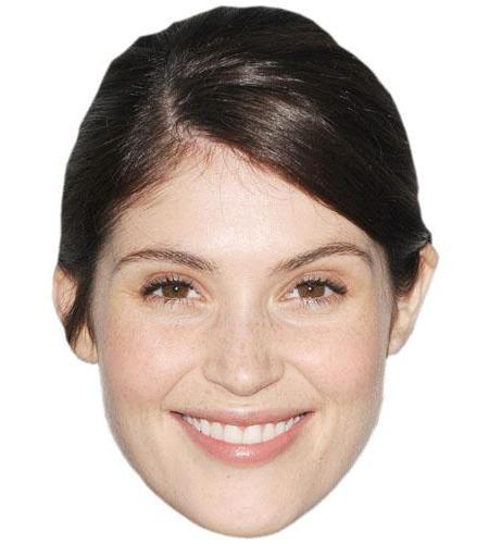 A Cardboard Celebrity Big Head of Gemma Arterton
