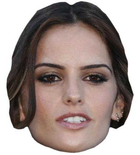 A Cardboard Celebrity Big Head of Izabel Goulart