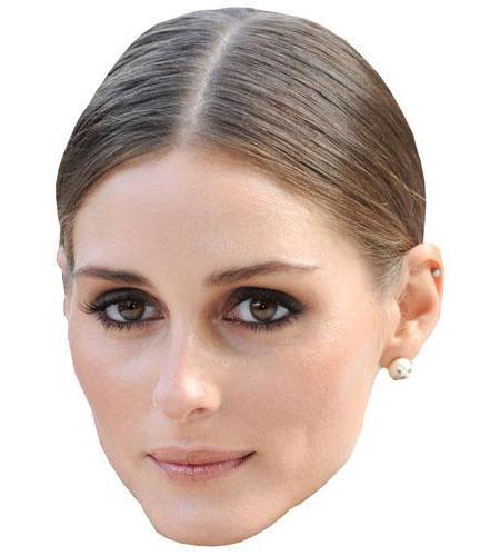 A Cardboard Celebrity Big Head of Olivia Palermo