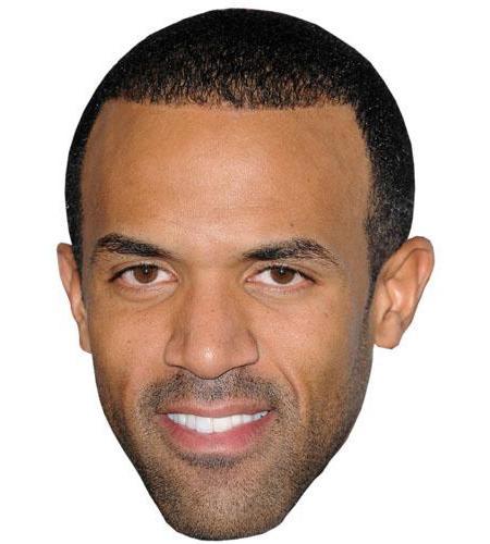 A Cardboard Celebrity Big Head of Craig David