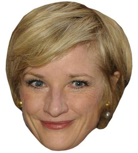 A Cardboard Celebrity Big Head of Jane Horrocks