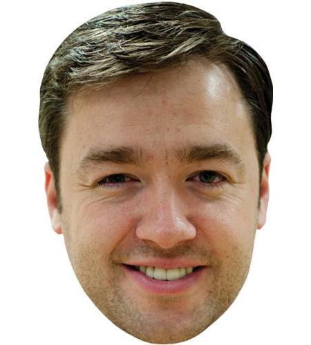 A Cardboard Celebrity Big Head of Jason Manford