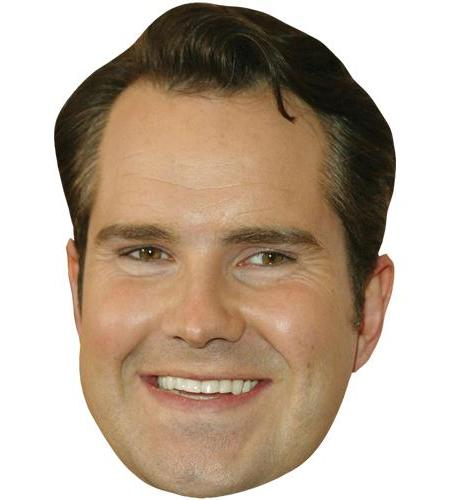 A Cardboard Celebrity Big Head of Jimmy Carr