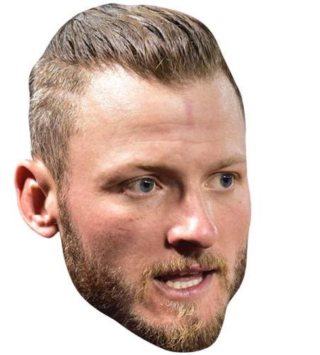 A Cardboard Celebrity Big Head of Josh Donaldson