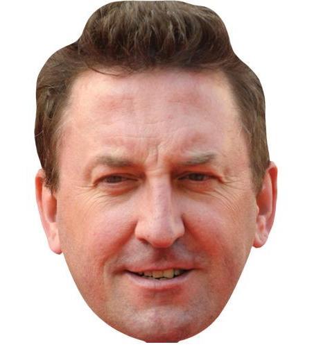 A Cardboard Celebrity Big Head of Lee Mack