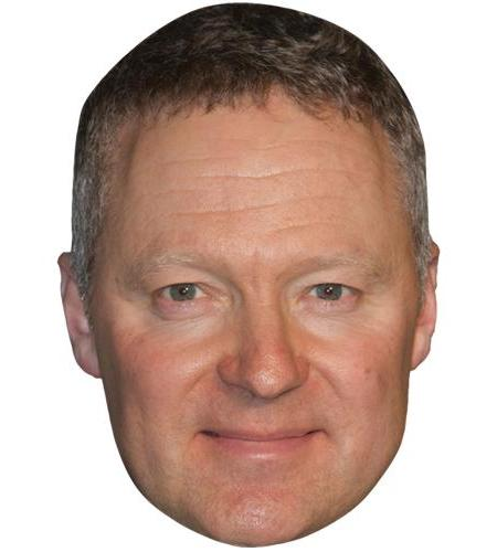 A Cardboard Celebrity Big Head of Rory Bremner
