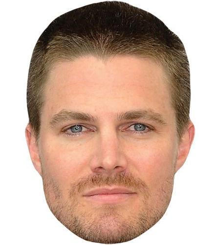 A Cardboard Celebrity Big Head of Stephen Amell