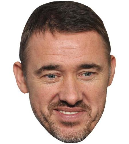 A Cardboard Celebrity Big Head of Stephen Hendry