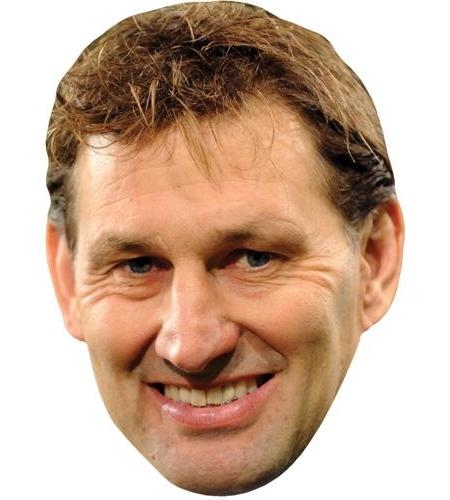A Cardboard Celebrity Big Head of Tony Adams