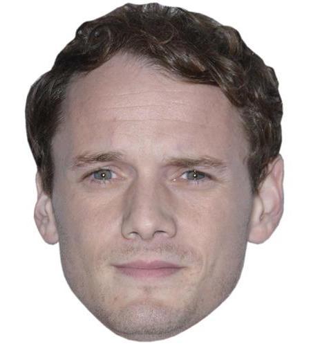 A Cardboard Celebrity Big Head of Anton Yelchin
