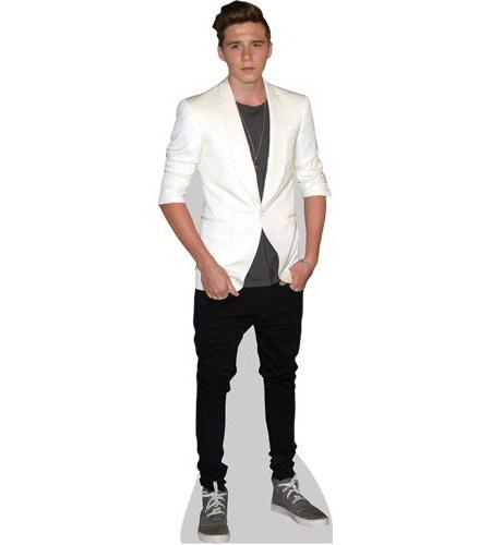 A Lifesize Cardboard Cutout of Brooklyn Beckham