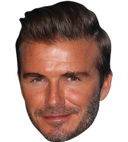 A Cardboard Celebrity Big Head of David Beckham (2016)
