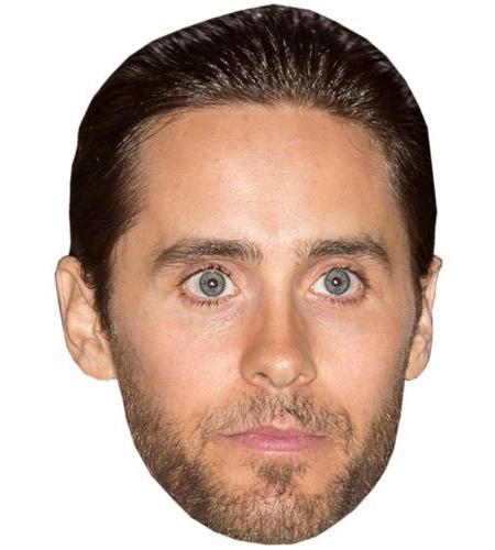A Cardboard Celebrity Big Head of Jared Leto