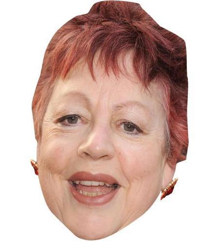 A Cardboard Celebrity Big Head of Jo Brand