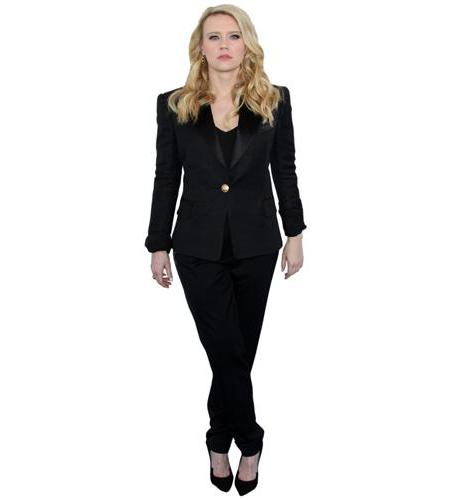 A Lifesize Cardboard Cutout of Kate McKinnon wearing black