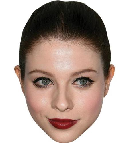 A Cardboard Celebrity Big Head of Michelle Trachtenberg