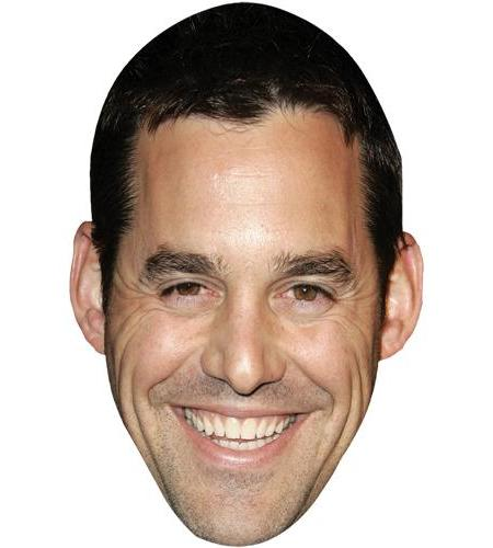 A Cardboard Celebrity Big Head of Nicholas Brendon