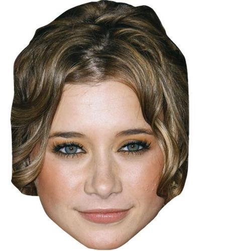 A Cardboard Celebrity Big Head of Olesya Rulin