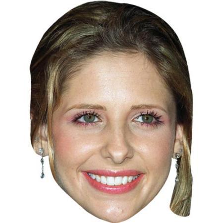A Cardboard Celebrity Big Head of Sarah Michelle Gellar