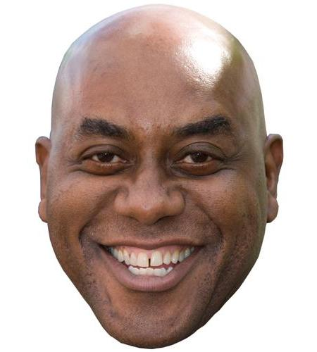 A Cardboard Celebrity Big Head of Ainsley Harriott